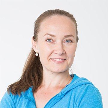Татьяна Чесалина - тренер студии Пилатес Плюс на Фрунзенской